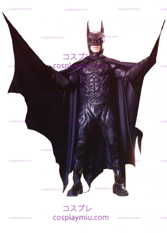 Batman Vuodesta 1997 Movie Deluxe Adult cosplay pukuja