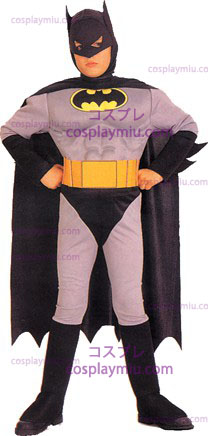 Batman Muscle Chest Child cosplay pukuja