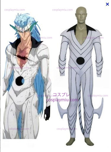 Bleach Grimmjow Jeagerjaques Pantera Form Cosplay Cotume