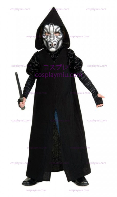 Death Eater cosplay pukuja