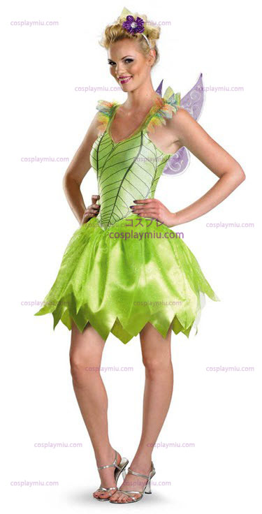 Tinkerbell Rainbow Deluxe Adult cosplay pukuja