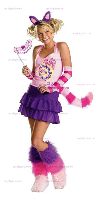 Cheshire Cat Adult ja Tween cosplay pukuja