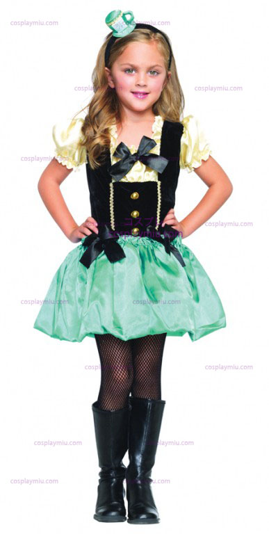 Alice in Wonderland Tea Party Girl cosplay pukuja