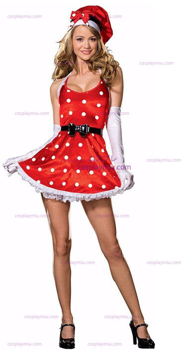 Holiday Pinup Adult cosplay pukuja