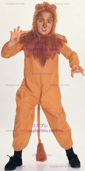 Wizard Of Oz: Pelkuri Lion Child cosplay pukuja