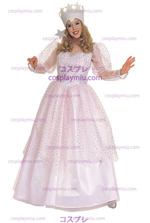 Wizard Of Oz Glinda Good Witch Adult cosplay pukuja