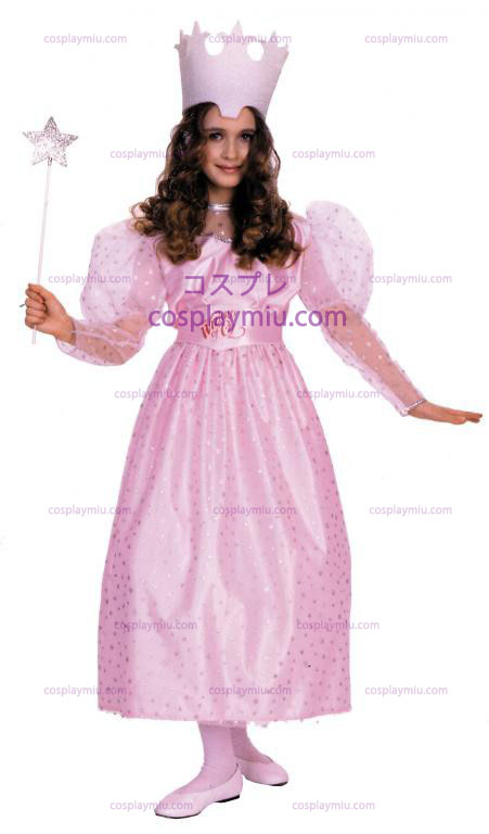 Wizard Of Oz Glinda Child cosplay pukuja