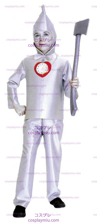 Wizard Of Oz Tin Man Child cosplay pukuja