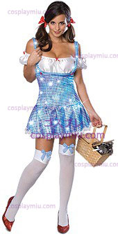 Secret Wishes Wizard Of Oz Sparkle Dorothy Adult cosplay pukuja