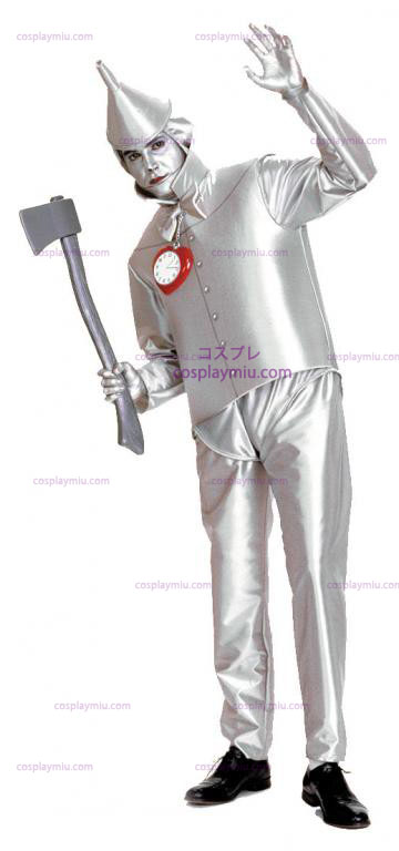 Ihmemaa Oz Tin Man Adult cosplay pukuja