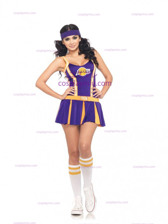 Lakers Cheerleader Adult cosplay pukuja