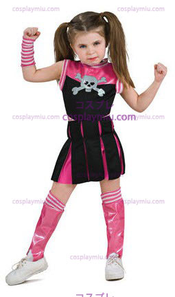 Bad Spirit Cheerleader Taapero cosplay pukuja