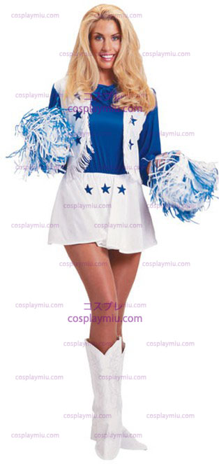 Dallas Cowboy Cheerleader Adult cosplay pukuja