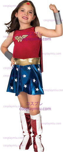 Wonder Woman Child cosplay pukuja