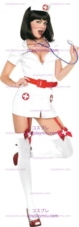 Naughty Nurse Sexy Adult cosplay pukuja