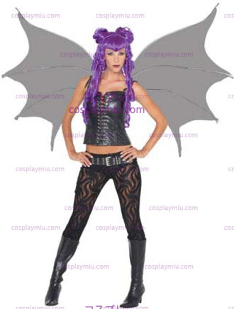 Demonette Wings Musta