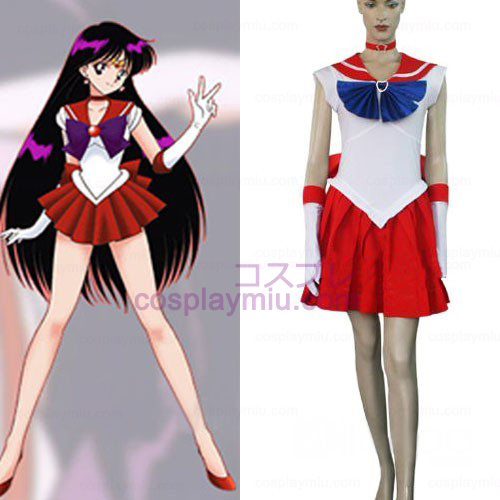 Sailor Moon Sailor Mars Raye Hino Halloween Cosplay pukuja