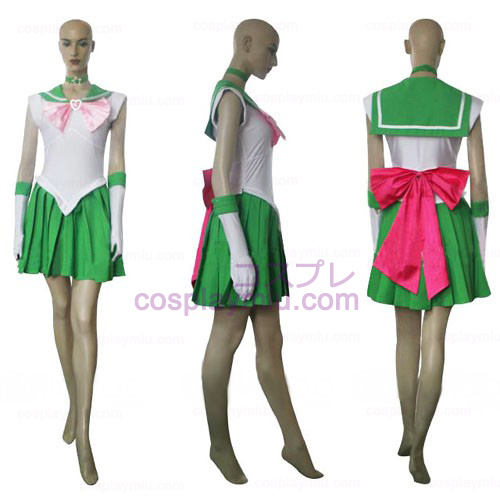 Sailor Moon Sailor Jupiter Makoto Kino Halloween Cosplay pukuja