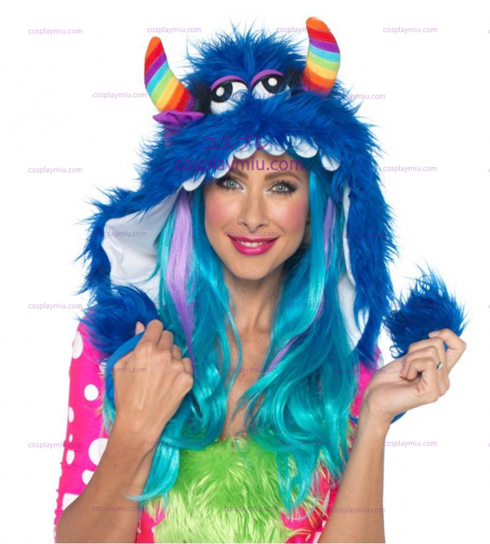 Rainbow Monster Hood