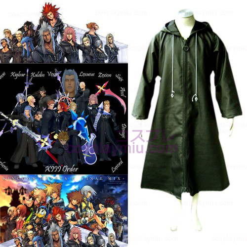 Kingdom Hearts 2 Organisaatio Xiii 13 Cosplay pukuja