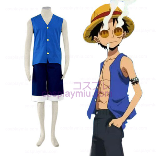 One Piece Luffy Cosplay pukuja