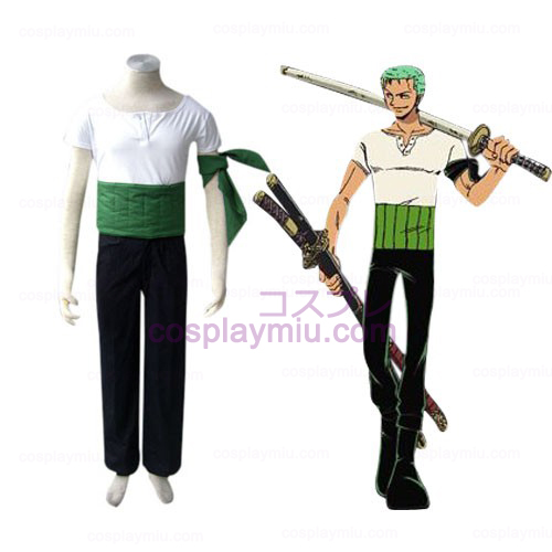 One Piece Roronoa Zoro Cosplay pukuja