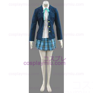 Ensimmäinen K-ON! Takara High School Girl Uniform Cosplay pukuja