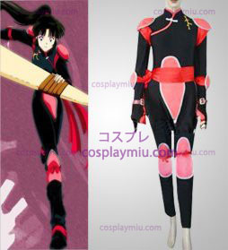 Inuyasha Sango Cosplay pukuja flighting Suit