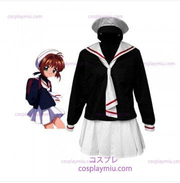 Cardcapture Sakura Tomoe Primary School Girls Cosplay pukuja