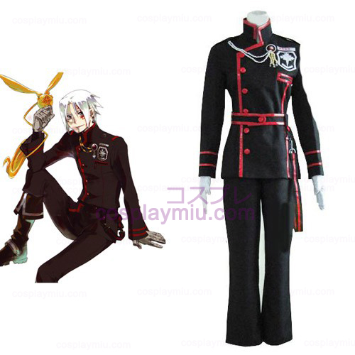 D.Gray Man Allen Walker Cosplay puku