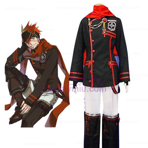 D.Gray Man Lavi Cosplay pukuja