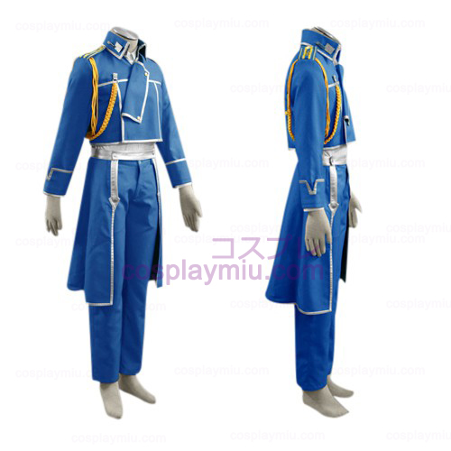 Fullmetal Alchemist Roy Mustang Military Cosplay pukuja