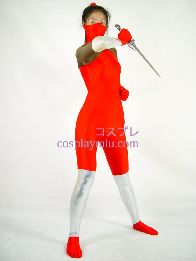 Red Lycra Cosplay puku