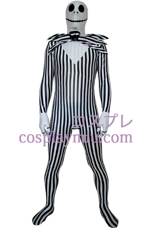 Nightmare Before Christmas Jack Skellington Zentai Suit
