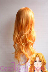 Bleach Matsumoto Rangiku Long Cosplay peruukki